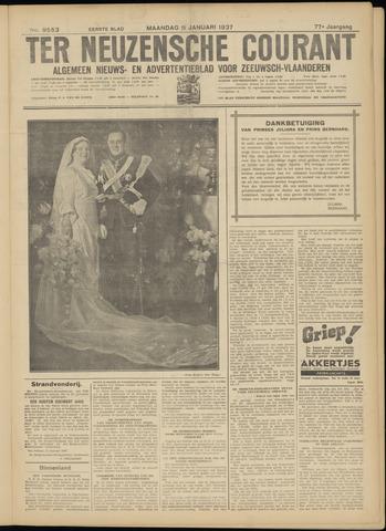 Ter Neuzensche Courant. Algemeen Nieuws- en Advertentieblad voor Zeeuwsch-Vlaanderen / Neuzensche Courant ... (idem) / (Algemeen) nieuws en advertentieblad voor Zeeuwsch-Vlaanderen 1937-01-11