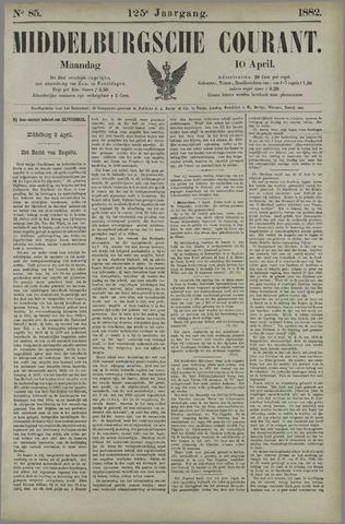 Middelburgsche Courant 1882-04-10