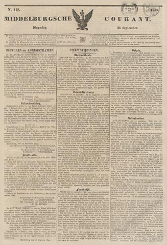Middelburgsche Courant 1843-09-26