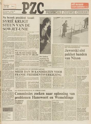 Provinciale Zeeuwse Courant 1974-04-17