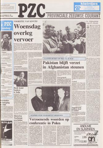 Provinciale Zeeuwse Courant 1989-02-07