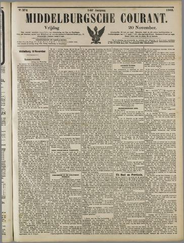 Middelburgsche Courant 1903-11-20