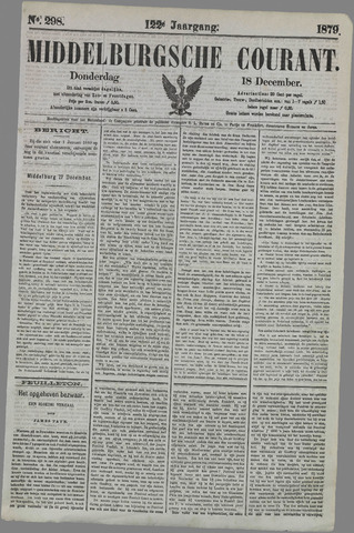 Middelburgsche Courant 1879-12-18