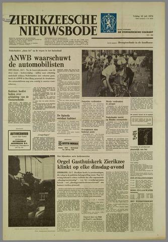 Zierikzeesche Nieuwsbode 1974-07-12