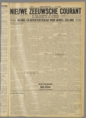 Nieuwe Zeeuwsche Courant 1933-01-10