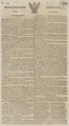 Middelburgsche Courant 1827-10-27