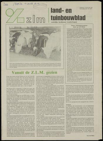 Zeeuwsch landbouwblad ... ZLM land- en tuinbouwblad 1987