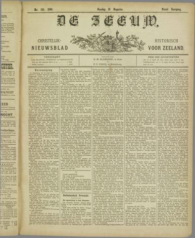 De Zeeuw. Christelijk-historisch nieuwsblad voor Zeeland 1896-08-18
