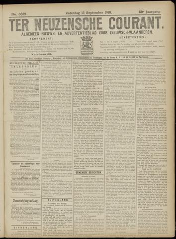 Ter Neuzensche Courant. Algemeen Nieuws- en Advertentieblad voor Zeeuwsch-Vlaanderen / Neuzensche Courant ... (idem) / (Algemeen) nieuws en advertentieblad voor Zeeuwsch-Vlaanderen 1919-09-13