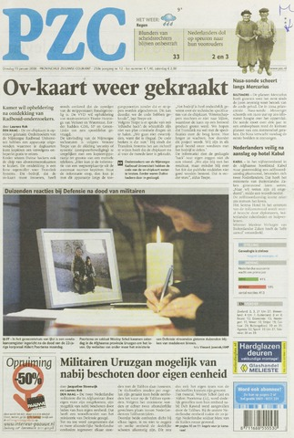 Provinciale Zeeuwse Courant 2008-01-15