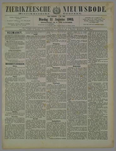 Zierikzeesche Nieuwsbode 1903-08-11