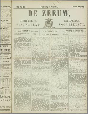 De Zeeuw. Christelijk-historisch nieuwsblad voor Zeeland 1888-12-06