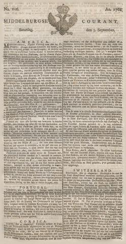 Middelburgsche Courant 1768-09-03