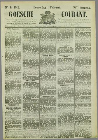 Goessche Courant 1912-02-01