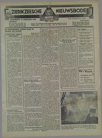 Zierikzeesche Nieuwsbode 1941-08-15