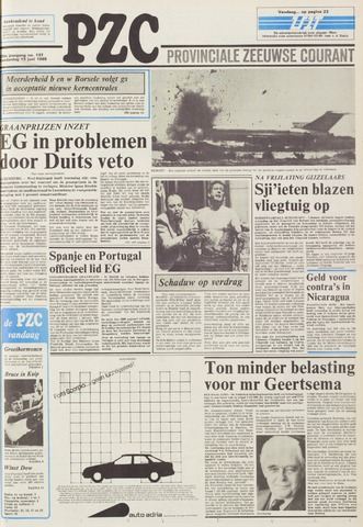 Provinciale Zeeuwse Courant 1985-06-13