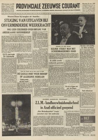Provinciale Zeeuwse Courant 1959-11-23