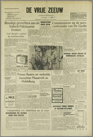 de Vrije Zeeuw 1965-09-11