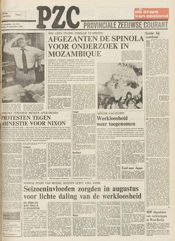 Provinciale Zeeuwse Courant 1974-09-10