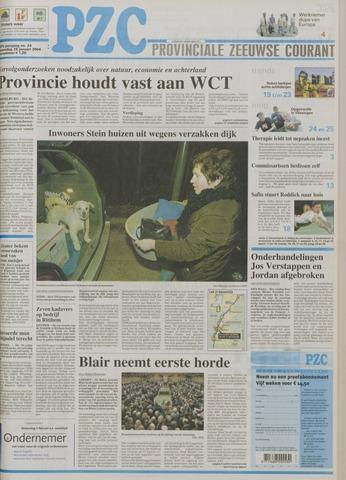 Provinciale Zeeuwse Courant 2004-01-28
