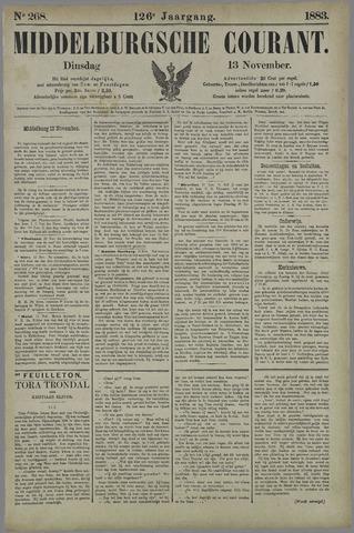 Middelburgsche Courant 1883-11-13
