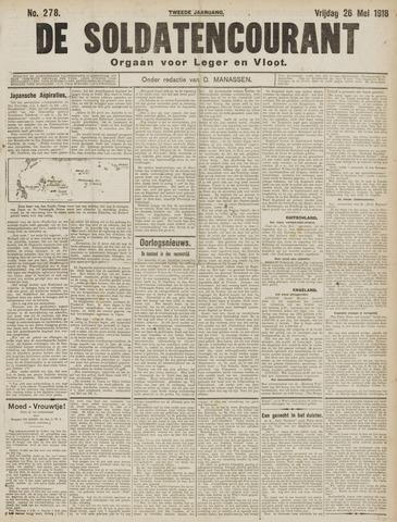 De Soldatencourant. Orgaan voor Leger en Vloot 1916-05-26