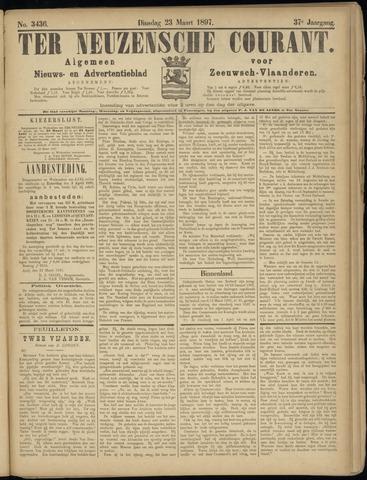 Ter Neuzensche Courant. Algemeen Nieuws- en Advertentieblad voor Zeeuwsch-Vlaanderen / Neuzensche Courant ... (idem) / (Algemeen) nieuws en advertentieblad voor Zeeuwsch-Vlaanderen 1897-03-23