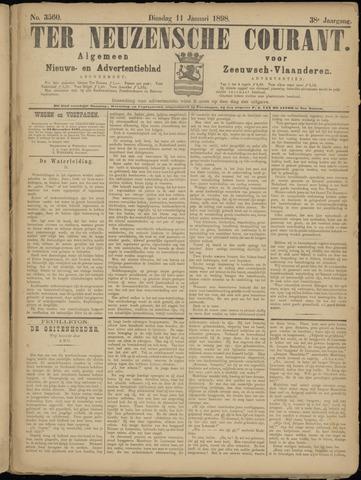 Ter Neuzensche Courant. Algemeen Nieuws- en Advertentieblad voor Zeeuwsch-Vlaanderen / Neuzensche Courant ... (idem) / (Algemeen) nieuws en advertentieblad voor Zeeuwsch-Vlaanderen 1898-01-11