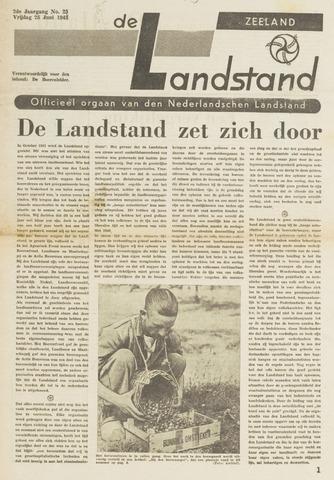 De landstand in Zeeland, geïllustreerd weekblad. 1943-06-25