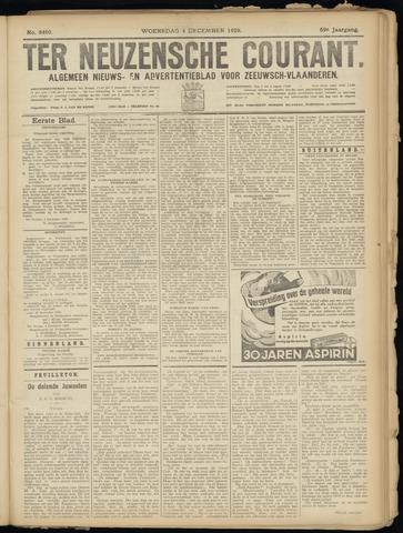 Ter Neuzensche Courant. Algemeen Nieuws- en Advertentieblad voor Zeeuwsch-Vlaanderen / Neuzensche Courant ... (idem) / (Algemeen) nieuws en advertentieblad voor Zeeuwsch-Vlaanderen 1929-12-04