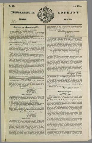 Zierikzeesche Courant 1844-04-19