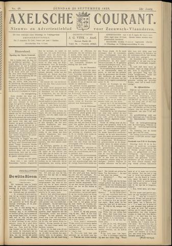 Axelsche Courant 1938-09-20