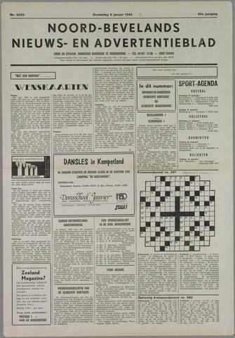 Noord-Bevelands Nieuws- en advertentieblad 1986-01-09
