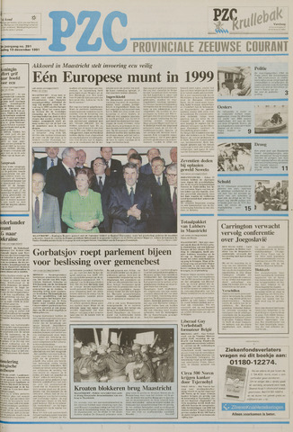 Provinciale Zeeuwse Courant 1991-12-10