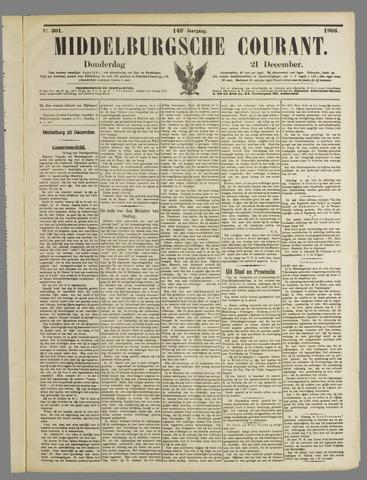 Middelburgsche Courant 1905-12-21