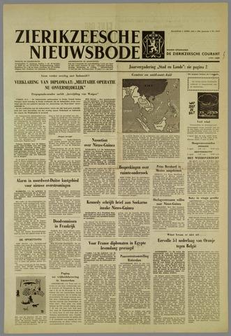 Zierikzeesche Nieuwsbode 1962-04-02