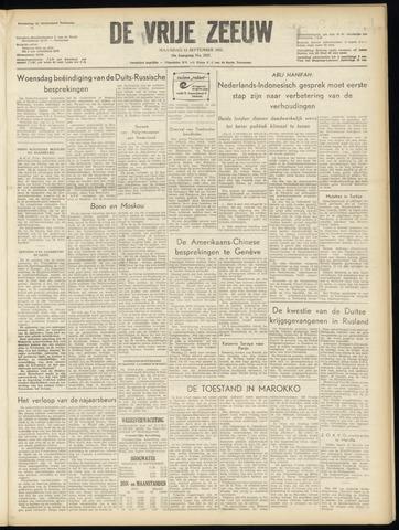 de Vrije Zeeuw 1955-09-12