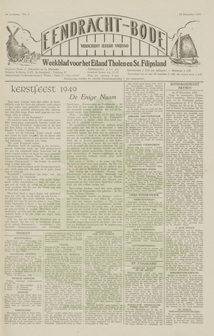 Eendrachtbode (1945-heden)/Mededeelingenblad voor het eiland Tholen (1944/45) 1949-12-23