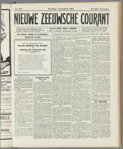 Nieuwe Zeeuwsche Courant 1911-12-02