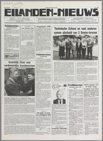 Eilanden-nieuws. Christelijk streekblad op gereformeerde grondslag 1989-02-28