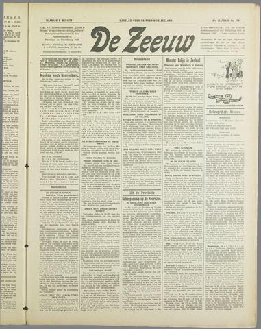 De Zeeuw. Christelijk-historisch nieuwsblad voor Zeeland 1937-05-03