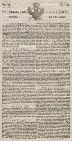 Middelburgsche Courant 1768-09-06