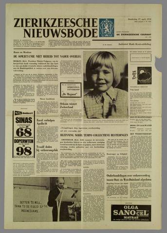 Zierikzeesche Nieuwsbode 1972-04-27