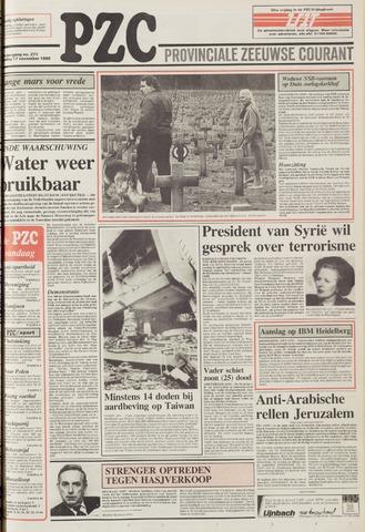 Provinciale Zeeuwse Courant 1986-11-17