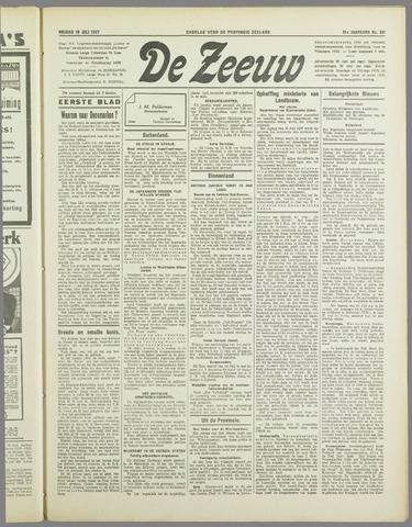 De Zeeuw. Christelijk-historisch nieuwsblad voor Zeeland 1937-07-16