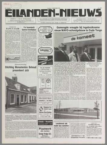 Eilanden-nieuws. Christelijk streekblad op gereformeerde grondslag 1990-09-07