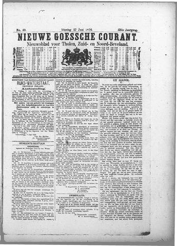 Nieuwe Goessche Courant 1876-06-27