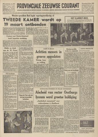 Provinciale Zeeuwse Courant 1958-12-24