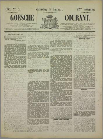 Goessche Courant 1885-01-17