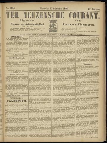 Ter Neuzensche Courant. Algemeen Nieuws- en Advertentieblad voor Zeeuwsch-Vlaanderen / Neuzensche Courant ... (idem) / (Algemeen) nieuws en advertentieblad voor Zeeuwsch-Vlaanderen 1894-09-19
